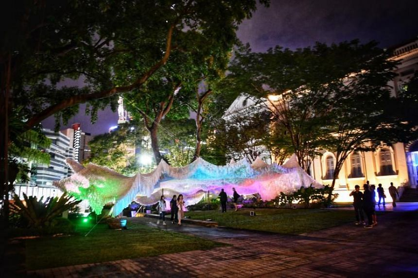 Digitally-inspired installations will go on display at the National Museum as part of the Singapore Art Week.