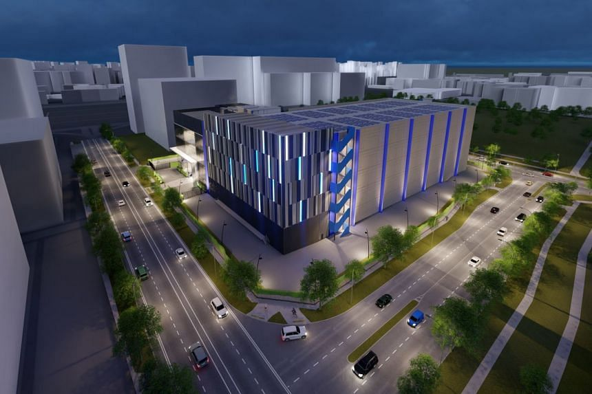 The site for Digital Realty's third data centre spans 12,800 square metres and is adjacent to its second Singapore facility at Loyang Drive.