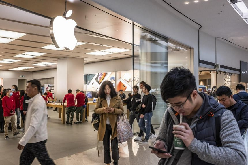 Apple said revenue from services, which investors are counting on to fuel growth, reached US$10.8 billion, in line with Wall Street estimates.