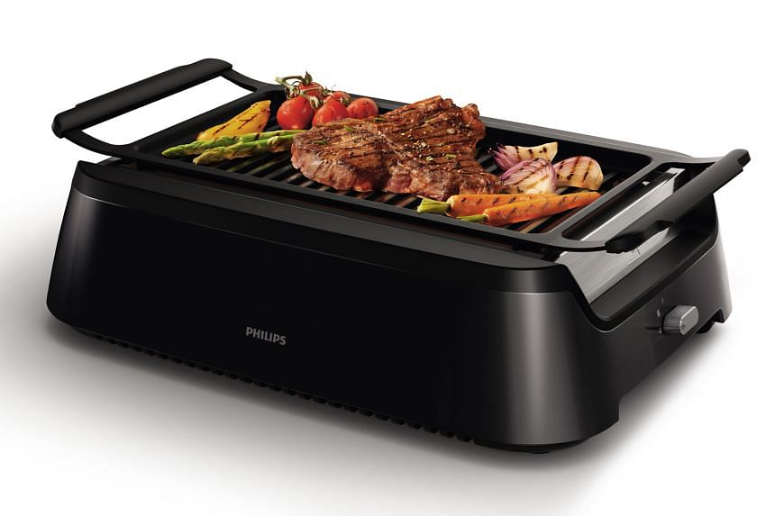 Philips Avance Collection Indoor Grill.