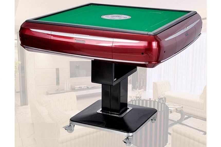 Automated Mahjong Table.