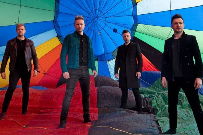 Irish group Westlife, who were at the peak of their popularity in the 2000s, are in Singapore as part of a promotional tour.