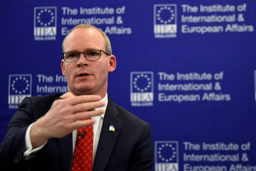 "Ireland's Minister for Foreign Affairs Simon Coveney speaking about Brexit at the ""State of the Union 2019"" event."
