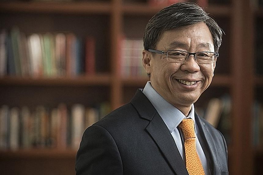 Yale-NUS College president and historian Tan Tai Yong says Singapore's identity has been shaped by changes to its hinterland and port over seven centuries.
