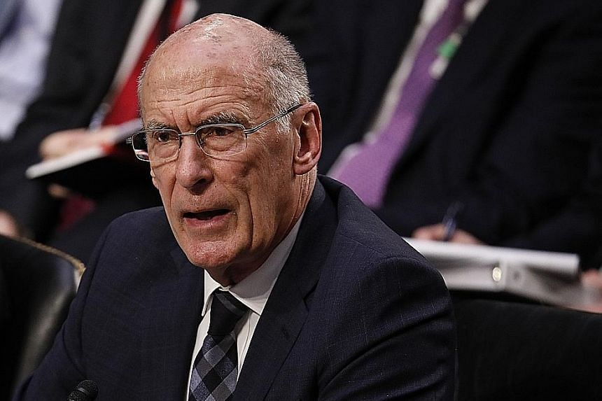 National Intelligence director Dan Coats says ISIS still commands thousands of fighters in Iraq and Syria.