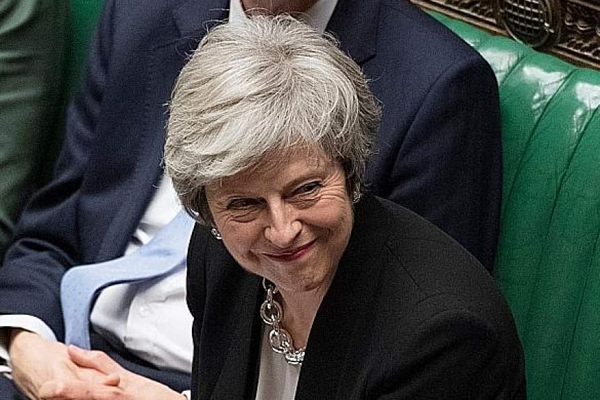 "European Union leader Jean-Claude Juncker said the pact British Prime Minister Theresa May (above) sealed with the 27 EU leaders last month ""remains the best and only deal possible""."