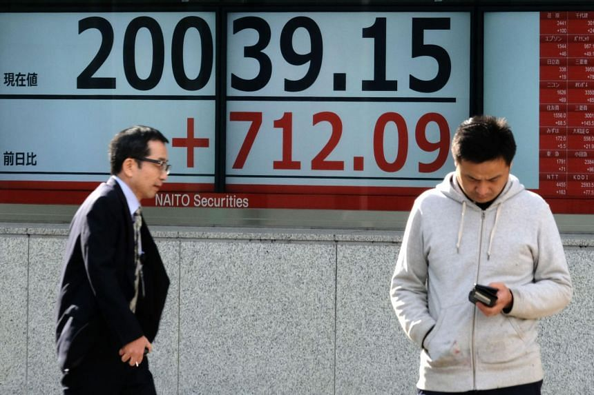 Japanese shares led regional gains, indicating a strong end to a stellar month for equities in Asia.
