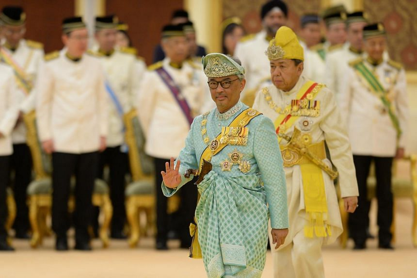 Sultan Abdullah takes Malaysia throne for five-year term