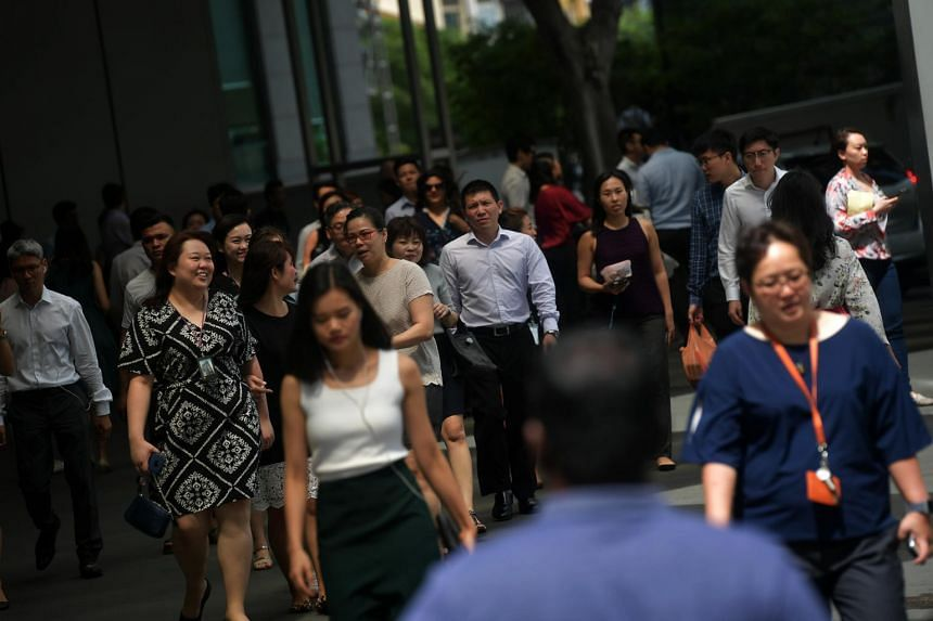 Manpower Ministry data shows that the typical Singaporean in full-time work earned more last year, with real median income rising 3.3 per cent year on year to $4,183 as of June.