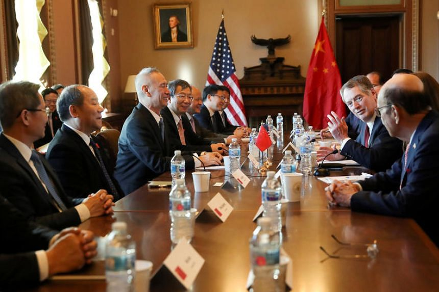 US Trade Representative Robert Lighthizer will lead a second and final day of negotiations with Chinese Vice-Premier Liu He on Jan 31, 2019.