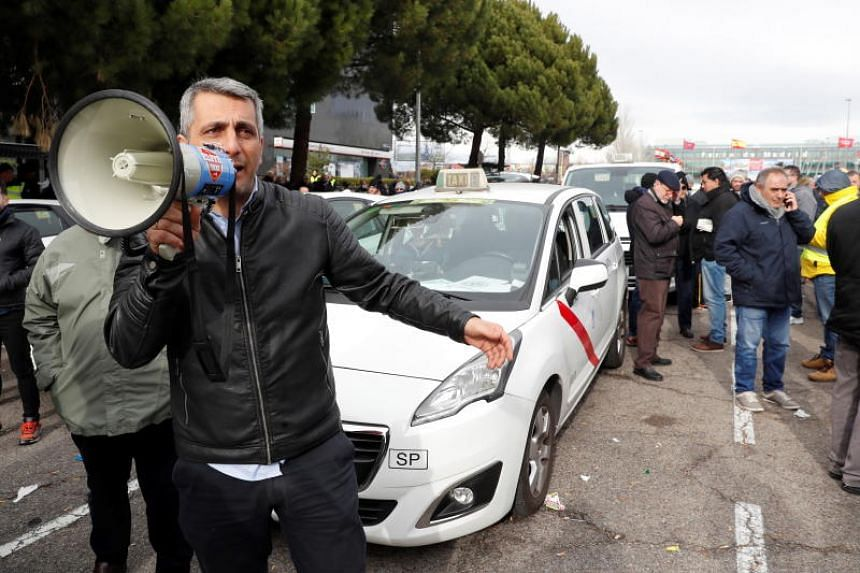 The new regulation came after pressure from taxi drivers, which have held many strikes in Barcelona and remain on strike in Madrid.