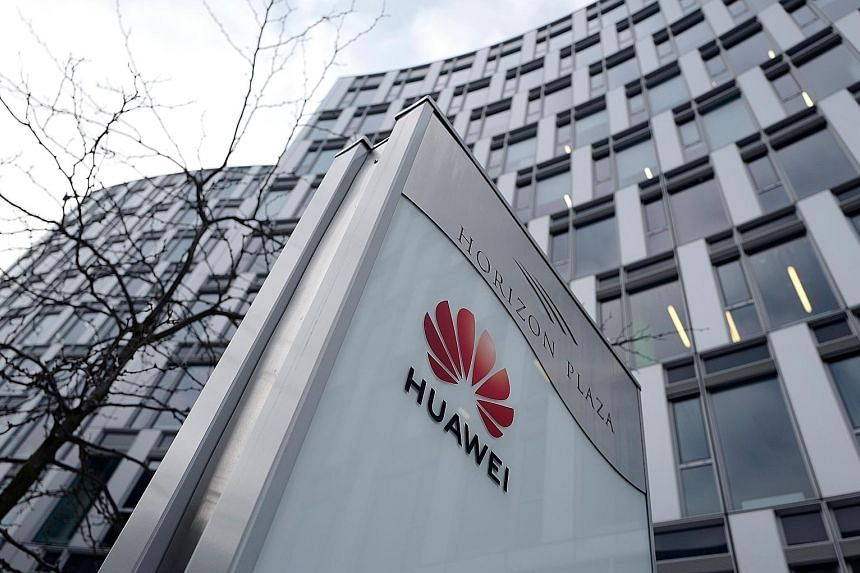 Huawei's local offices in Warsaw, Poland. The European Union's tougher stance reflects growing security concerns in the West about Huawei.