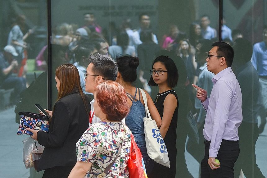 The typical Singaporean in full-time work earned more last year, with median income - including employer contributions to the Central Provident Fund - rising 3.3 per cent year on year to $4,183 as of June, according to data from the Ministry of Manpo
