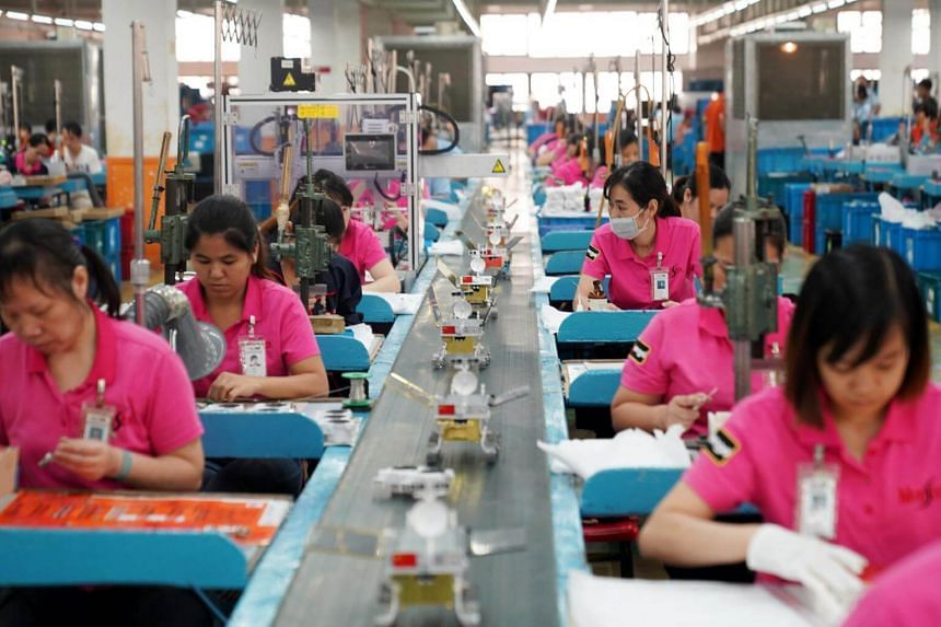 China's factory activity shrank by the most in almost three years in January as new orders slumped further and output fell.