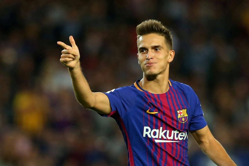 Arsenal announced the signing of Spain midfielder Denis Suarez on loan from Barcelona for the rest of the term, with a view to purchase for £20 million (S$35.3 million) in the close season.
