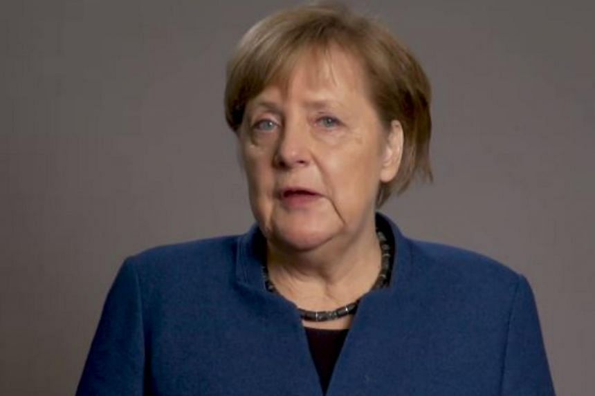 Dr Angela Merkel noted that she remains chancellor, meaning her adventures will continue to be documented on the federal government's Facebook page.