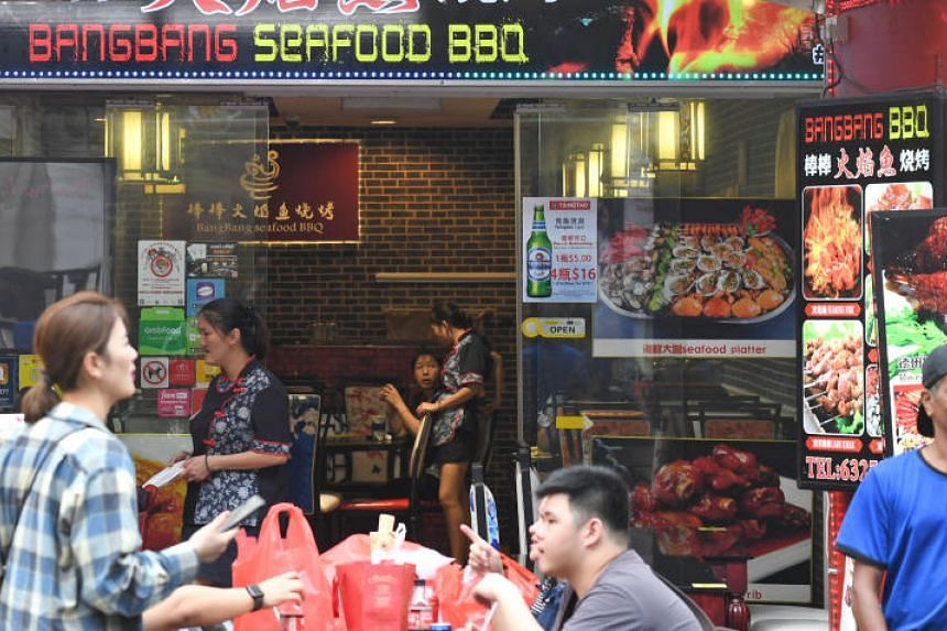 Representatives of American dating show The Bachelor had ordered an array of barbecued dishes from BangBang Seafood BBQ in Chinatown last October.