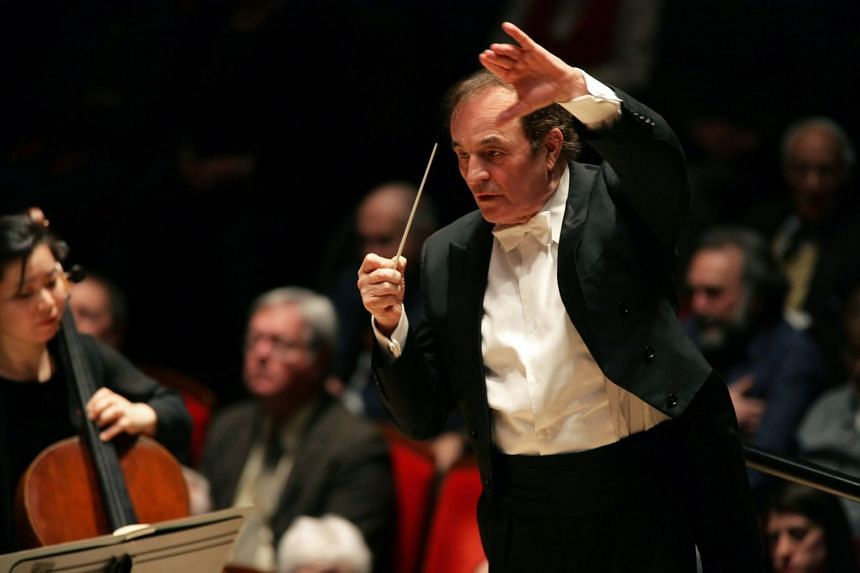 A soprano has claimed she was molested by veteran conductor Charles Dutoit.