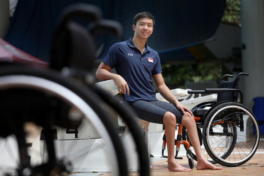 Former national swimmer Toh Wei Soong won Singapore's first medal at the Asian Para Games in 2018, getting gold for both the 50m free and 100m free and a bronze in the 50m backstroke.