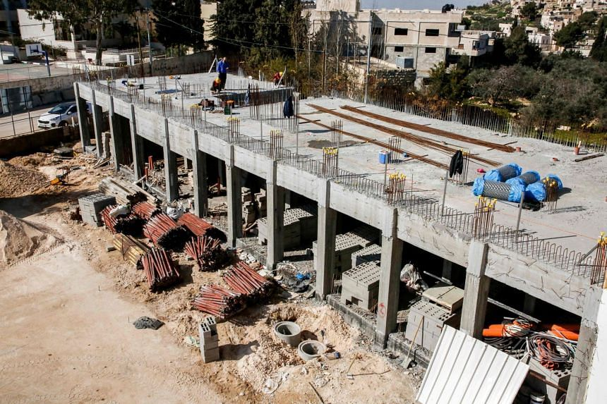 The construction of a school funded by USAID will be stopped within days after the Palestinian government announced it would no longer receive any US funding due to new American legislation that could see them face significant lawsuits.