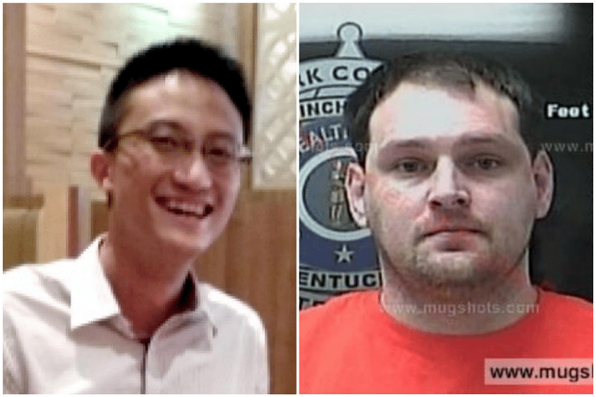 Ler Teck Siang (left) and Mikhy Farrera Brochez are at the centre of a high-profile data breach in the healthcare sector that came to light on Jan 28, 2019.