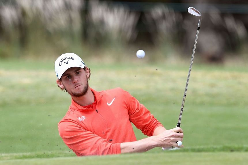 Pieters (above, in a file photo) struck a flawless seven-under-par 63.