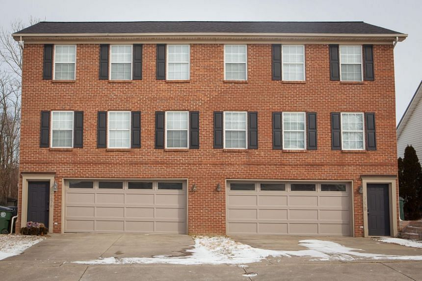 Mikhy Farrera Brochez's address in Kentucky court documents led to this house in the city of Lexington. He was not there when The Straits Times visited twice on Jan 31, 2019.