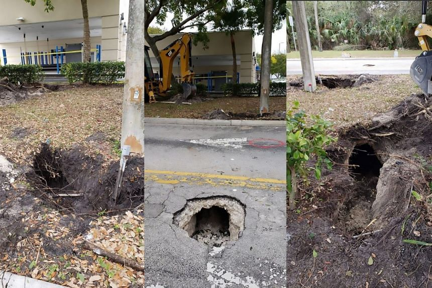 Florida Sinkhole Caused By Secret Tunnel To Bank United