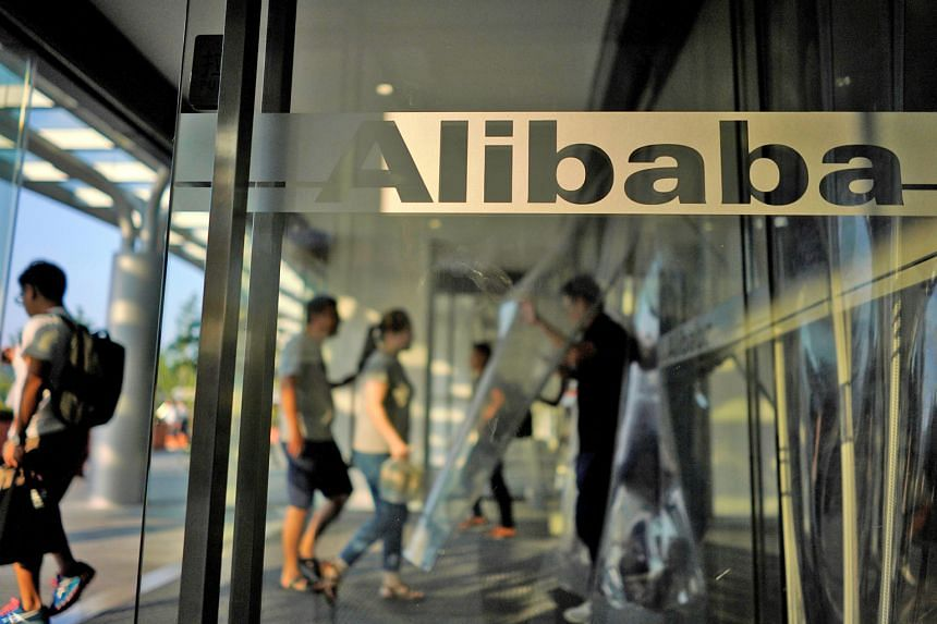 Alibaba's office in Hangzhou, Zhejiang province, China. The e-commerce giant's better-than-expected results came after a stunning day for China when at least 20 companies warned investors that full-year earnings would lag behind expectations.