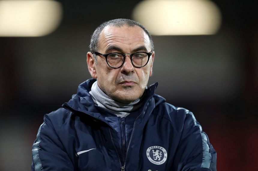 Sarri (above) remains adamant his style will get results eventually.