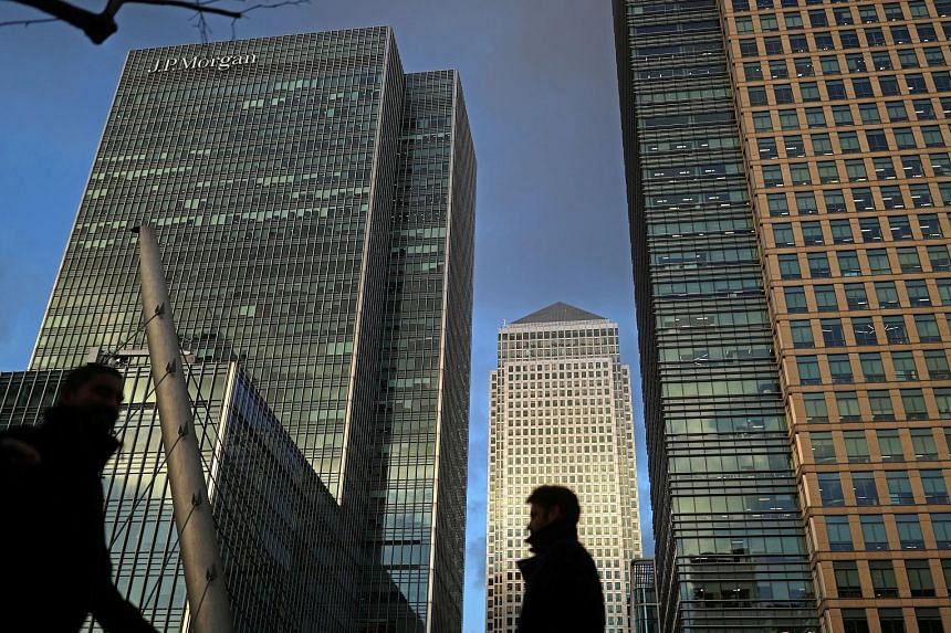 The Canary Wharf financial district in London. Sources familiar with the US banks said the number of relocations could rise in if there was a hardening of positions between now and the end of this month and banks concluded the differences were irreco