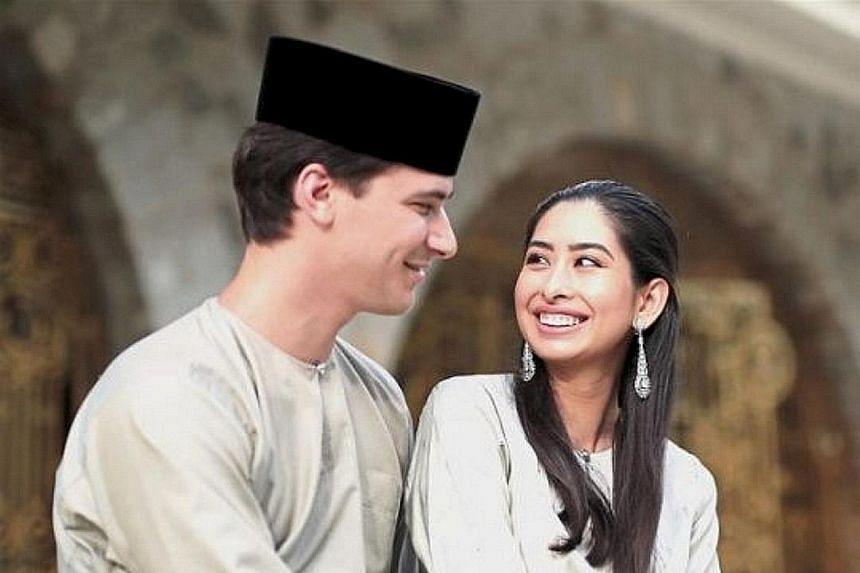 Johor Princess Aminah Sultan Ibrahim and Mr Dennis Muhammad Abdullah got married in August 2017.