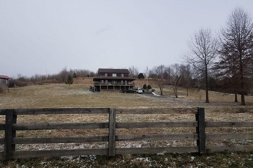 American Mikhy Farrera Brochez's address in the Kentucky court documents led to this house in the city of Lexington. No one answered the door when The Straits Times went there on Thursday. He agreed over the phone to a meeting with the journalist, bu