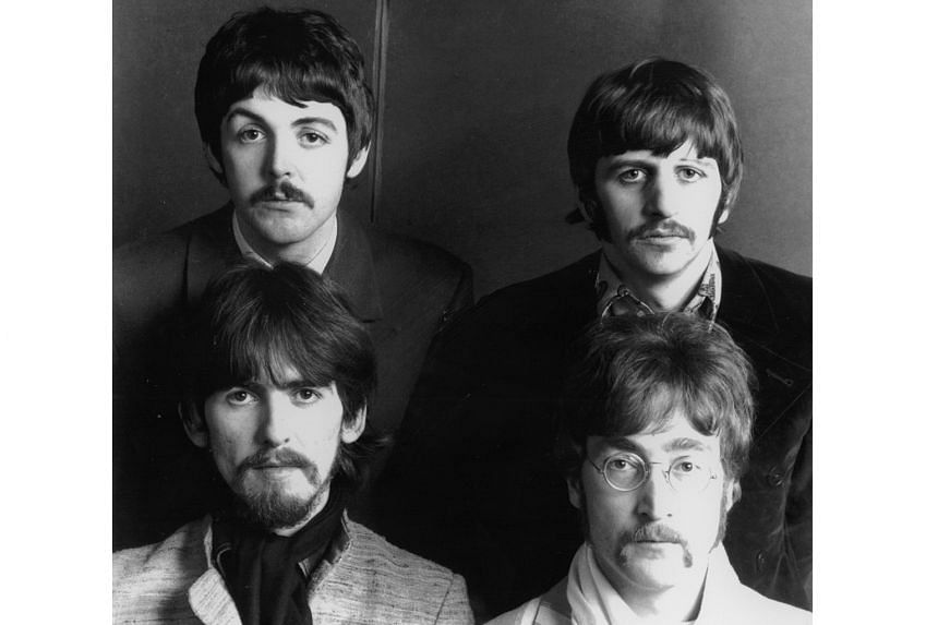 The Beatles comprised (clockwise from top left) Paul McCartney, Ringo Starr, John Lennon and George Harrison.