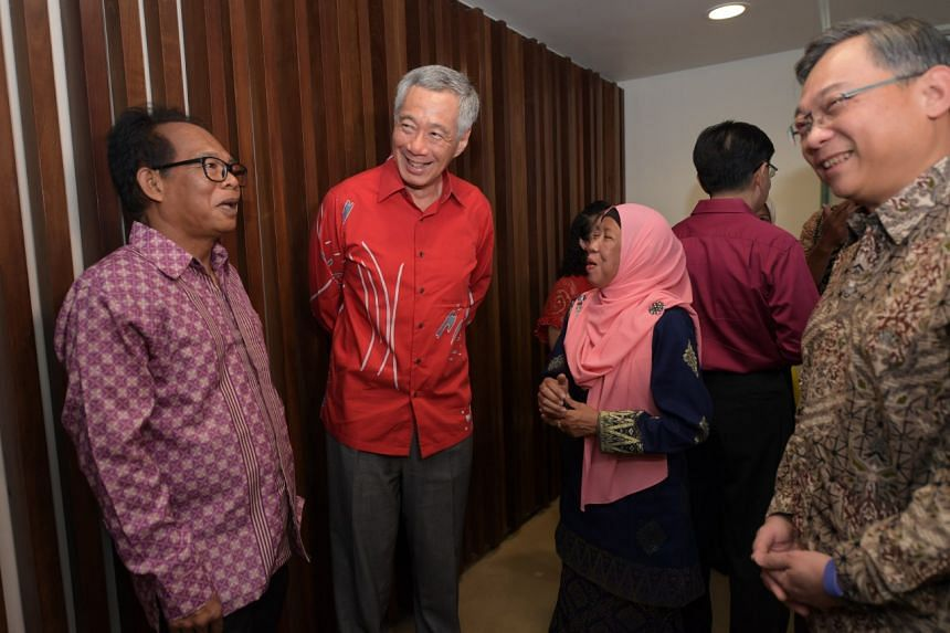 Prime Minister Lee Hsien Loong announced that Singaporeans aged between 60 and 69 this year will benefit from the multibillion-dollar package to help them with their medical expenses as they age into retirement, at the Gardens by the Bay's Flower Fie