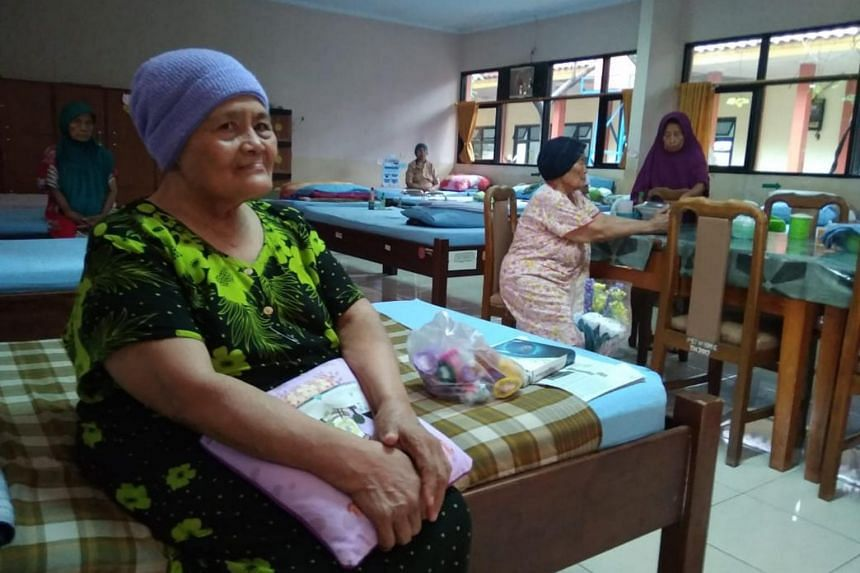 Madam Sri Alimah lost contact with her children after an earthquake struck her home town in Yogyakarta in 2006.