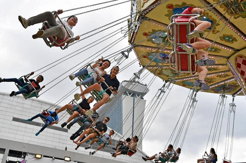 The second edition of the Prudential Marina Bay Carnival boasts at least three new rides.