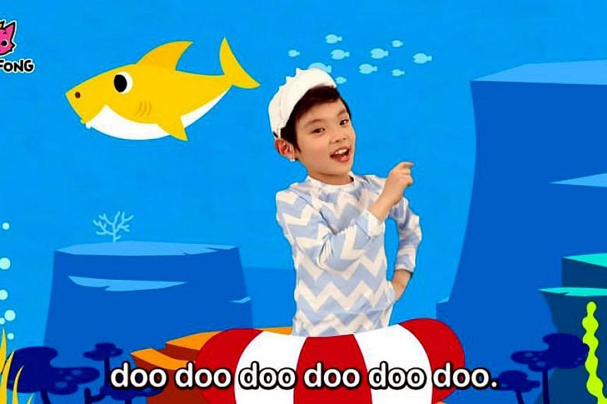 The catchy children's educational song Baby Shark has been charting on Billboard's Hot 100 since the second week of January as the first non-pop Korean song. The song-and-dance video, which features a shark family, has been viewed over 2.27 billion t