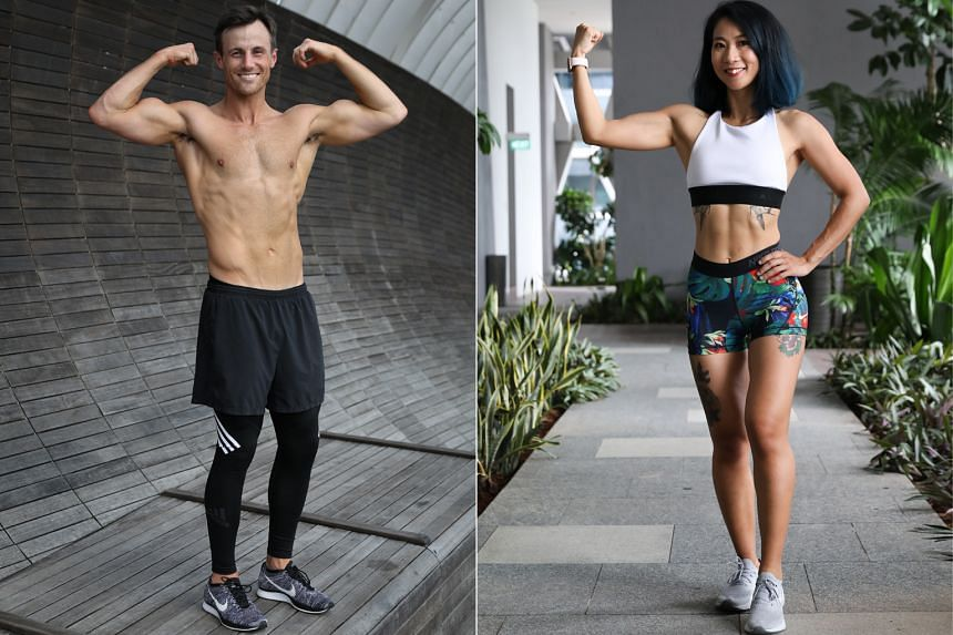 Charles Spencer (left) and Becky Xia (right).