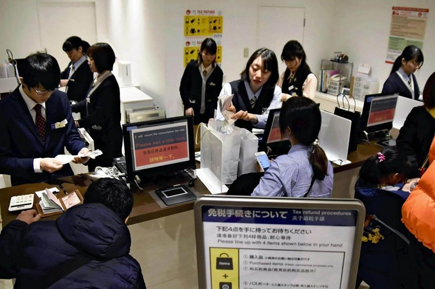 Compared with exchange rates during the 2018 Lunar New Year holidays in China, the yen has gained 3.5 per cent against the Chinese yuan in the most recent rates, which has put a crimp in Chinese tourists' spending.
