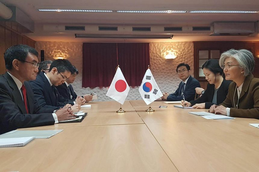 Ties between Japan and South Korea - two of the US's closest security partners - have arguably turned their most hostile in more than half a century over a series of diplomatic disputes.