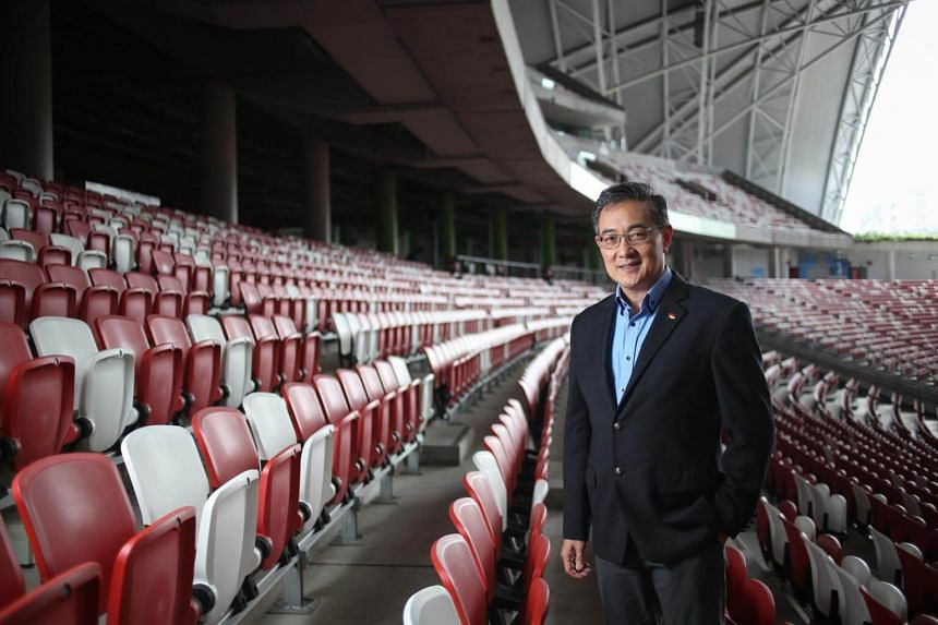 Mr Oon Jin Teik departed his role after just a year following what is understood to be a fundamental disagreement between him and the SportsHub Pte Ltd board on the direction of the Sports Hub.