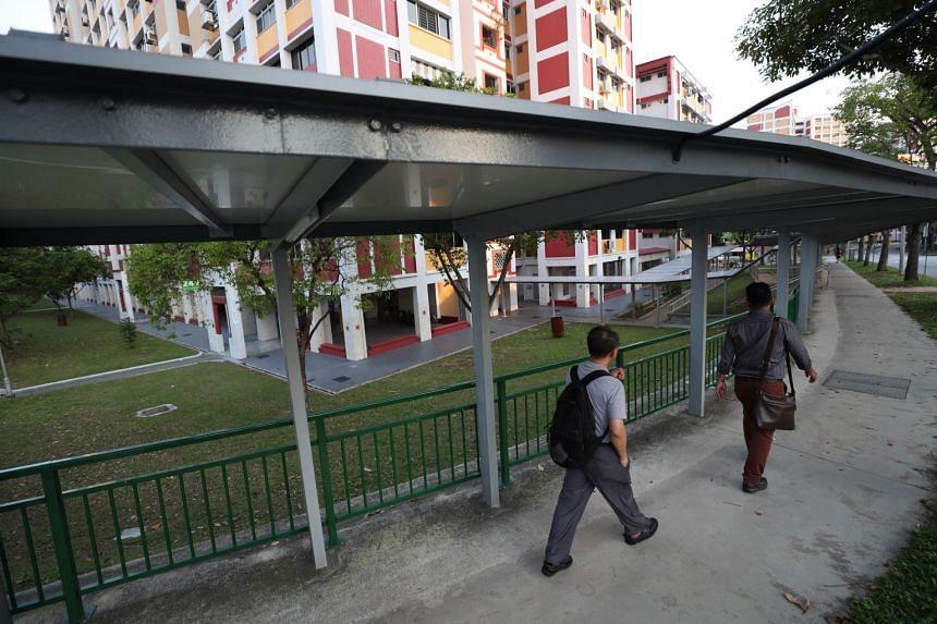 In the last five years, the LTA has built 200km of covered walkways islandwide.
