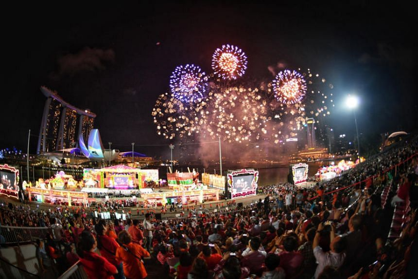 This year's River Hongbao is one the first major events of the year to commemorate the Singapore Bicentennial.