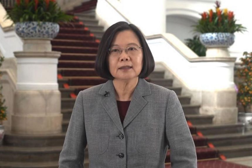 Taiwanese President Tsai Ing-wen delivered New Year's wishes in various languages, including Mandarin, Minnan, and Hakka, in a video released on Feb 3, 2019.