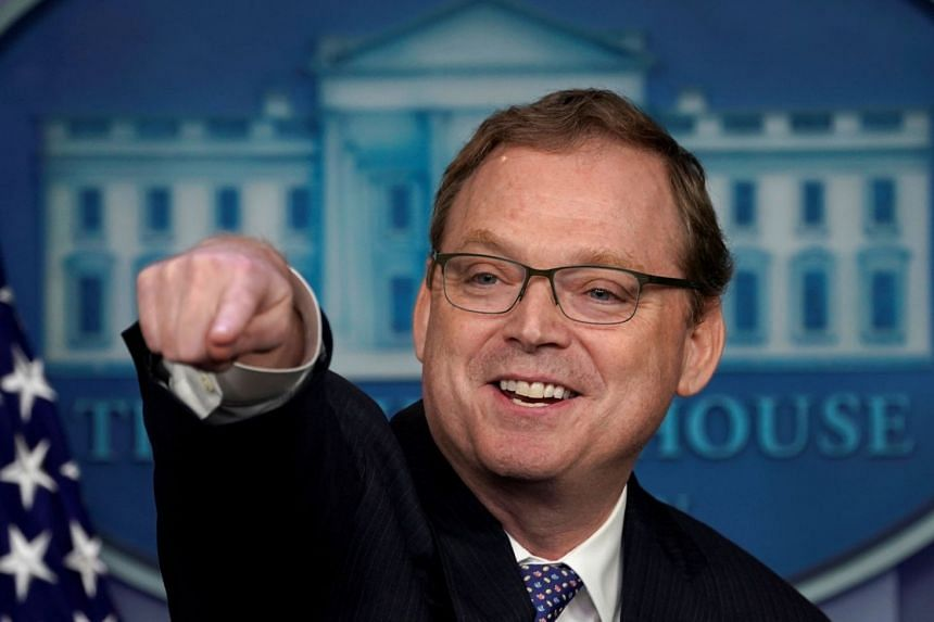 Hassett (above) said President Trump still hoped to make a deal by the March 1 deadline.