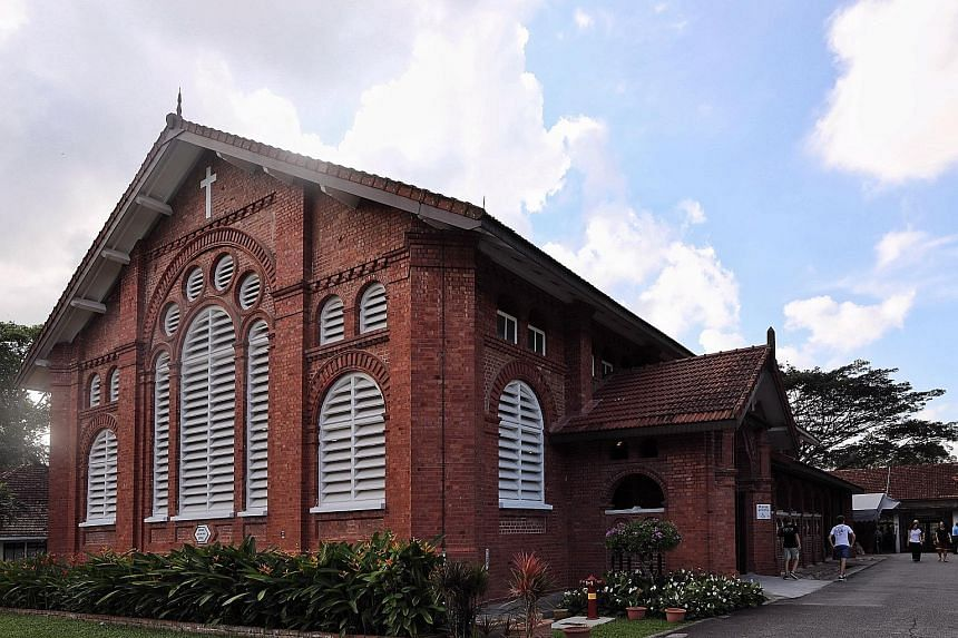 On the tour, participants will visit sites such as St George's Church in Harding Road.