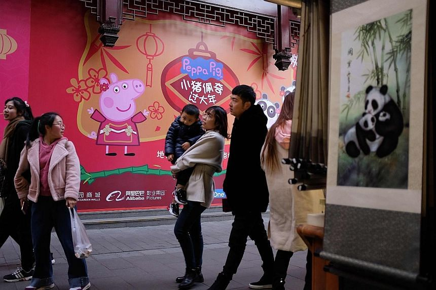 "Chinese state media has slammed cartoon Peppa Pig for ""destroying children's youth and breaking rules"", but her popularity has risen ahead of Chinese New Year, with this year being the Year of the Pig."
