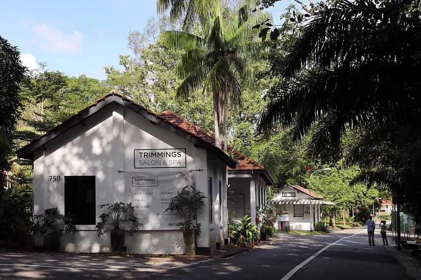 On the tour, volunteers will take participants to sites such as St George's Church in Harding Road (above) and old colonial buildings previously used by the British military in Loewen Cluster (below) near Tanglin Road.