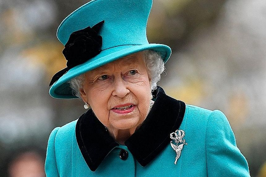 Britain's Queen Elizabeth is expected to be moved out of London if the country suffers Brexit-related unrest.